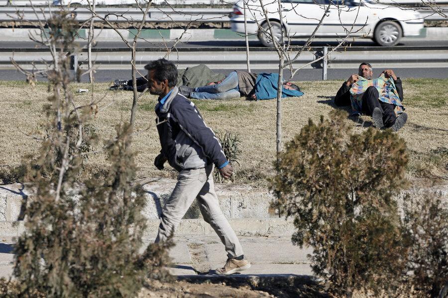 سرگردانی معتادان در محله ها