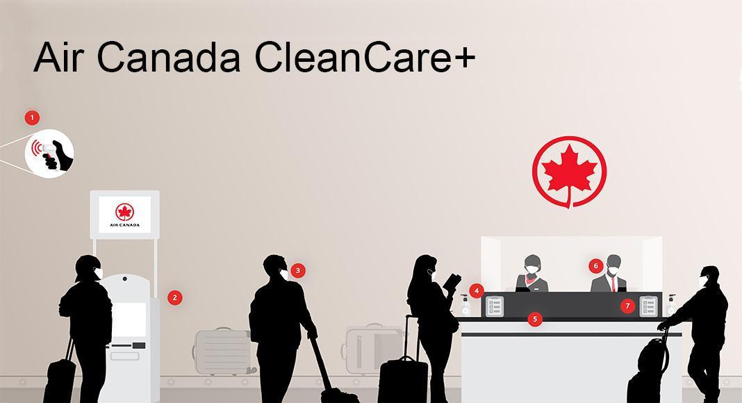 برنامه +Air Canada CleanCare چیست؟