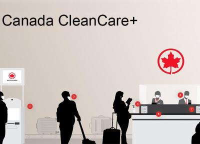 برنامه +Air Canada CleanCare چیست؟