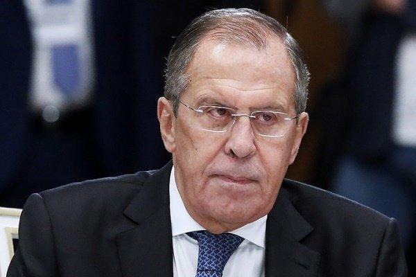 سرگئی لاوروف وارد فرودگاه بین المللی دمشق شد