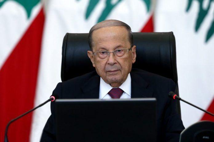 خبرنگاران میشل عون از واشنگتن درباره تحریم های جدید علیه لبنان توضیح خواست