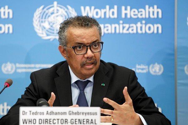 رئیس سازمان بهداشت جهانی خود را قرنطینه کرد